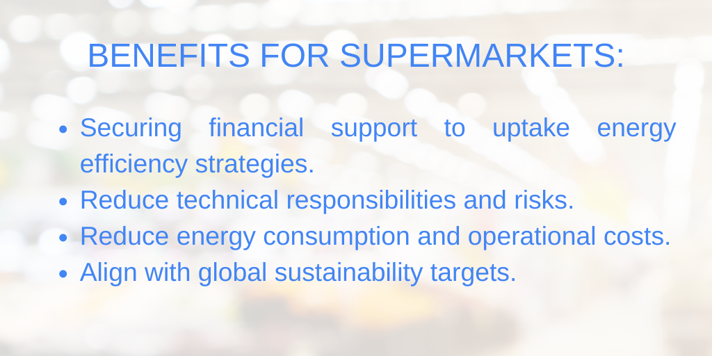 BENEFITS FOR SUPERMARKETS